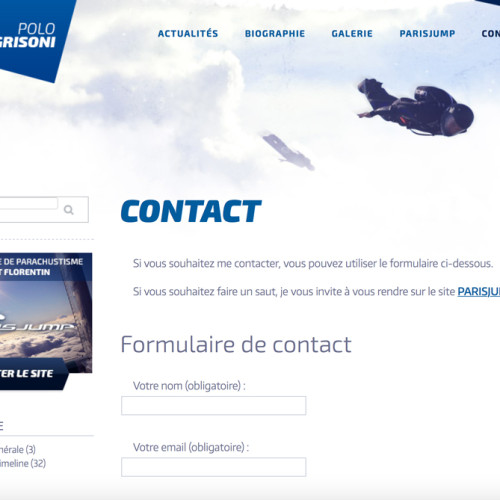 Page contact